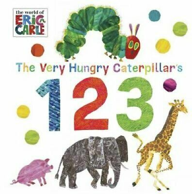 The Very Hungry Caterpillar's 123 by Eric Carle 9780141367941 | Brand New