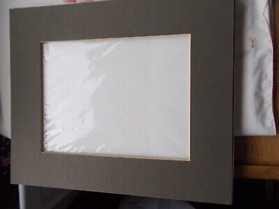 """Pack 10 Photo,Frame Mounts-Outer 12""""x10""""=Inner 8"""" x 6""""=7WITH BACKS=FREE POSTAGE"""