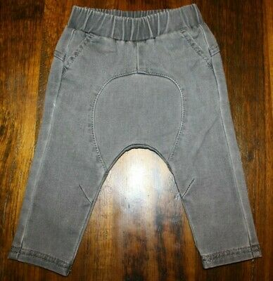 Seed Baby Boys Slouch Crotch Chino Pants.  Size 00 / 3 - 6 Months.  In Euc