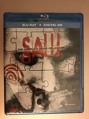 Saw: The Complete Movie Collection (Blu-ray Disc, 2014, Digital HD), Fast Ship