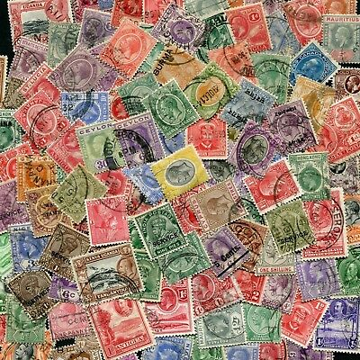 50 Different George V Commonwealth Stamps  Good/Fine Used