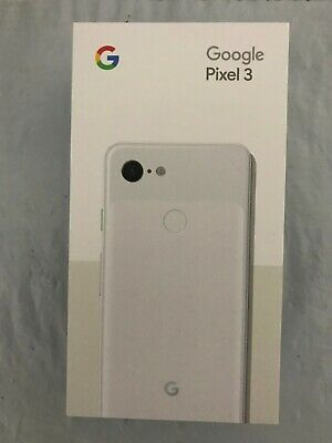 Google Pixel 3 - 64GB - Clearly White (Unlocked) - Brand New Sealed -AU Warranty