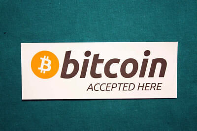 Bitcoin Cryptocurrency Stickers