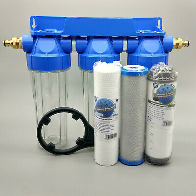 3 Stage HMA High Flow Water Filter KOI Pond Dechlorinator Chlorine Removal