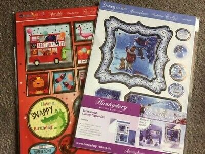 Craft room clear out. Hunkydory Luxury topper set & Papercraft kit. New.
