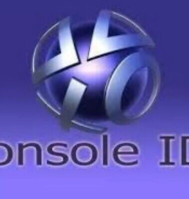 PS3 Console ID CID IDPS and PSID SPECIAL OFFER AT 5REAL PRIVATE 100%
