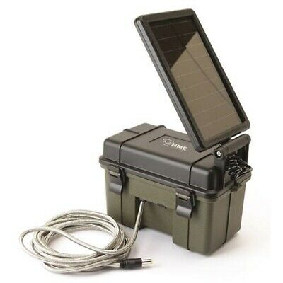 Hme Products 12Vbbsol Trail Camera 12V Solar Aux Power Pack