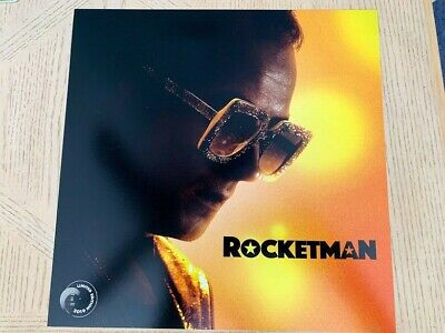 Rocketman Movie Poster Elton John Taron Egerton MOVIE THEATRE PROMO POSTER 12x12