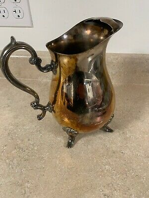 Vintage Newport Silver Plate Water Pitcher