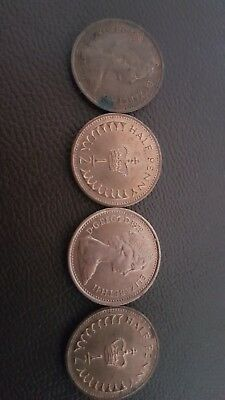 New Penny Half penny - half pence - QE2. BUY 1 GET 1 FREE. various years avail.
