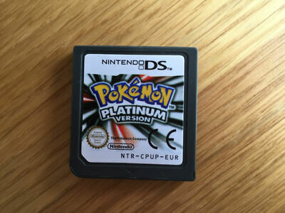 Pokemon: Platinum Version (Nintendo DS, 2009) uk version  DS DS/DSI/DSL/DSI XL/3