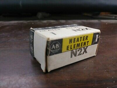 Allen Bradley N2X Overload Heater Element N-32X New In Package Lot Of 3
