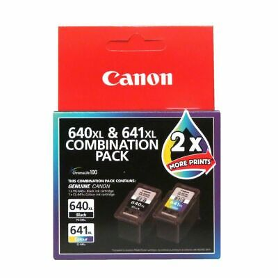Canon 640XL and 641XL Combination Ink Pack Brand New Free Postage