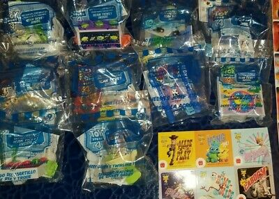2019 McDONALD'S TOY STORY 4 HAPPY MEAL TOYS COMPLETE 10 PIECE SET!Bonus Stickers