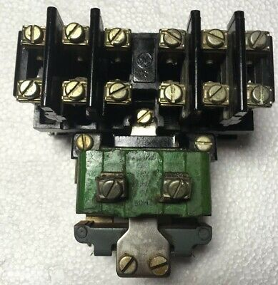 GE CR2810A14EL RELAY 6 NO 6 NC CONTACTS 10 AMP 600 VOLT RATED