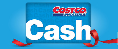 $100 CAD Costco Cash Card Gift Card