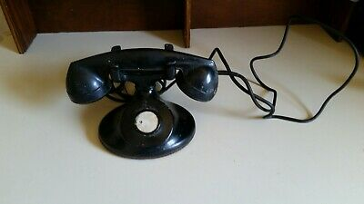 Vintage Western Electric Telephone No Dial D1 Body F1 Handset Bell System