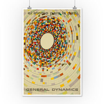 General Dynamics Solar (Nitsche) Vintage Ad (Posters, Wood & Metal Signs)