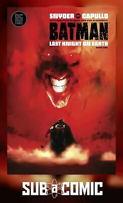 BATMAN LAST KNIGHT ON EARTH #1 VARIANT (DC 2019 1st Print) COMIC