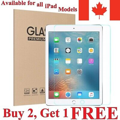 Premium Tempered Glass Screen Protector for Apple iPad [For All Models]