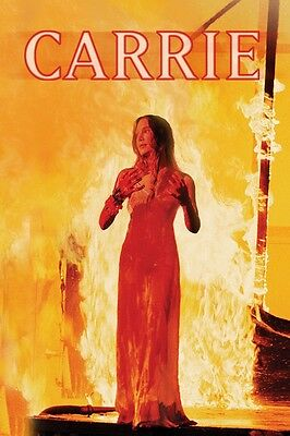 Carrie movie poster  Sissy Spacek, Stephen King  : 11 x 17 inches