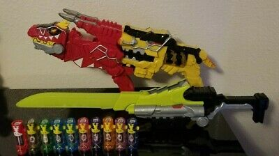 Power Rangers Super Dino Charge Morpher Saber T-Rex Charger Gun Blaster Zord