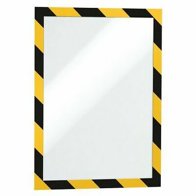 "DURABLE 4770130 Sign Holder,8-1/2"" x 11"",PVC,PK2"