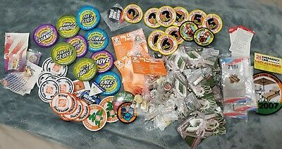 Huge Huge  Lot of Home Depot Lapel Apron Pins And Patches Mostly New