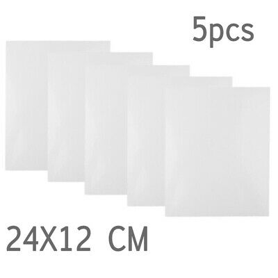 5pcs ABS Sheets Plate Model Styrene Sheet Ship Toy Set Pack Plastic Replacement