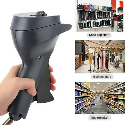 Handheld Security Tag Gun Detacher AM Clothes Magnet Security Tag Remover New
