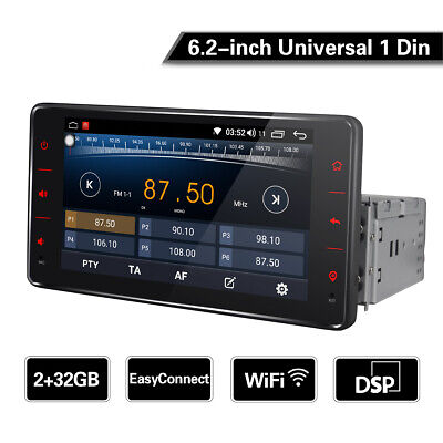 JOYING 6 2 INCH Android 8 1 Car Radio GPS Zlink BT USB Single1 Din