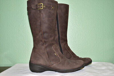 e43d7fb9 ECCO BELLA BOOT Ladies Womens Lightweight Leather Zip Up Comfy Boots ...