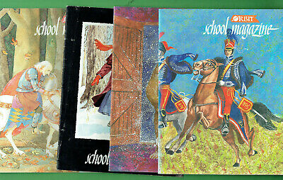 #Ss.   Four (4)  1992  Nsw  Orbit  School Magazines