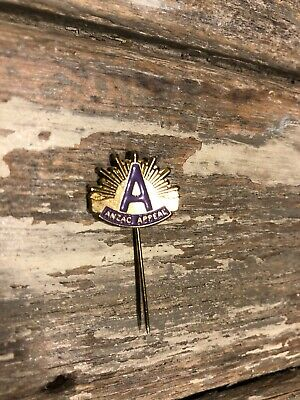 ANZAC DAY APPEAL BADGES /PIN $10 purple