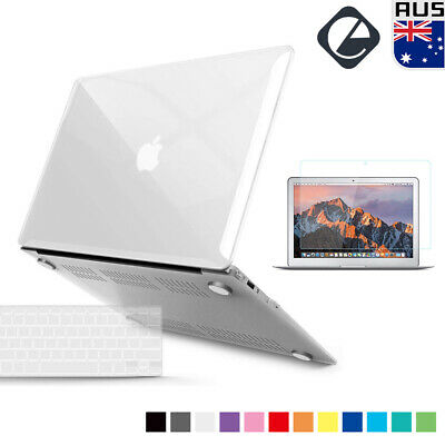 "Rubberized Hard Case Keyboard Cover Screen Protector for MacBook Air 13.3"" A1466"