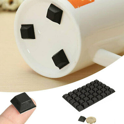 BBBA 40pcs Self Adhesive Silicone Bumper Cupboard Furniture Buffer Pad Non