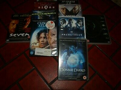 BUNDLE DVD'S (10) SCI-FI all boxed and complete good condition