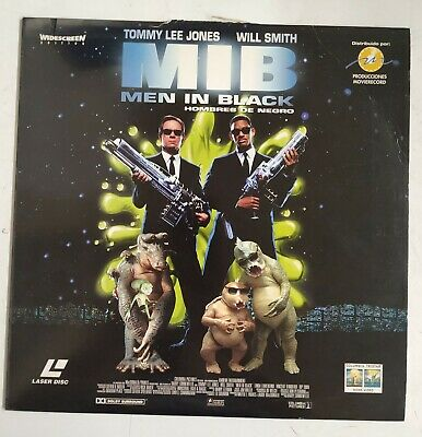 Men In black Laserdisc España PAL