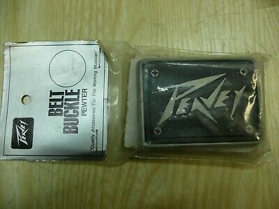 10 vintage Peavey Belt buckles pewter NOS rare 70's Made in USA! NO reserve