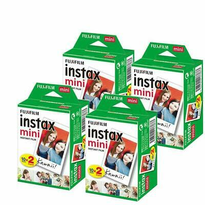 80 Prints Fujifilm instax Mini Film for Fuji 9 8 25 50 7s Neo 90 SP1