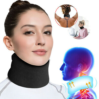 Cervical Neck Traction Device Collar Brace Support Shoulder Pain Relife Sleeping