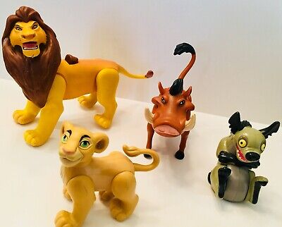 Walt Disney The Lion King Movie Character Collectible Toy Figure Play Set