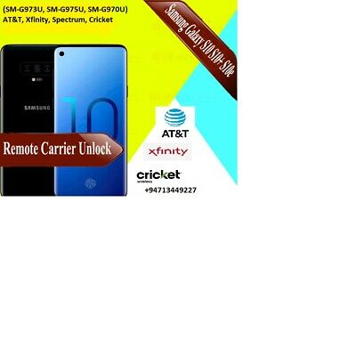 Unlock S10, S10+, S10e: AT&T, Xfinity, Spectrum, Cricket, Canadian remote unlock