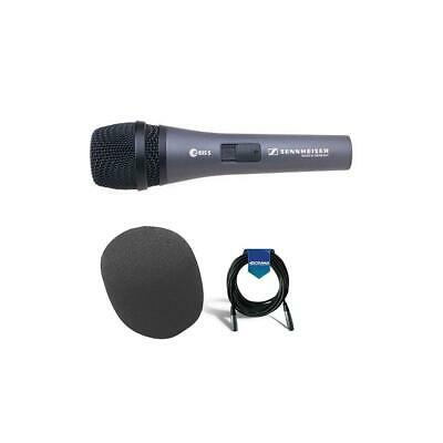 Sennheiser e 835-S Cardioid Handheld Dynamic Microphone With 20'Cable/Windscreen