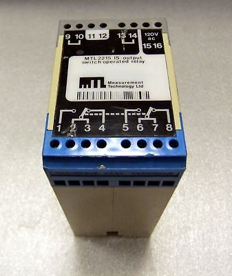Measurement Technology Relay IS Output MTL2215