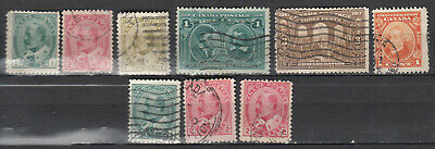 Canada Selection of Early 1900's *