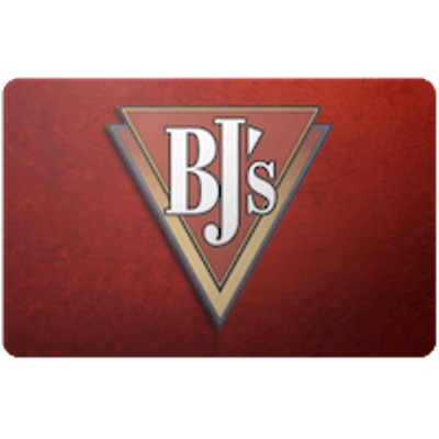 BJs Restaurant Gift Card $50 Value, Only $42.81! Free Shipping!