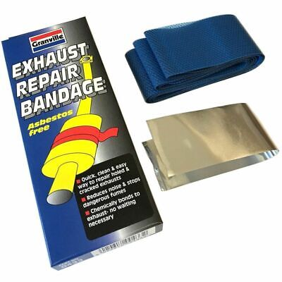 GRANVILLE CAR EXHAUST Silencer Pipe Repair Putty Paste