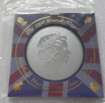 Great Britain 1998 Uncirculated Coin Set In Sealed Pack  (E)