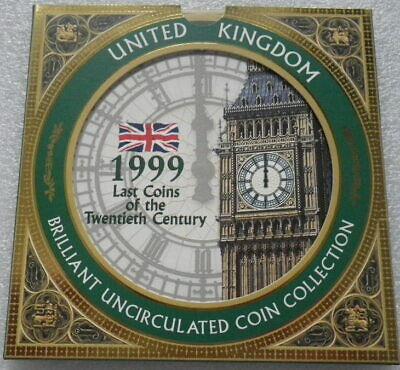 Great Britain 1999 Uncirculated Coin Set  (B)